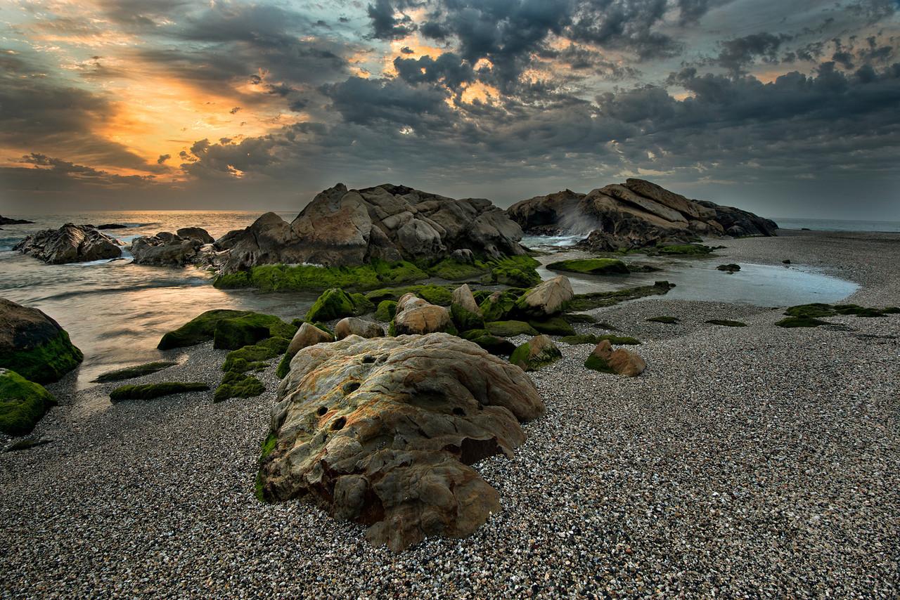 The coast of Malaga, Andalucia, Spain.2014.