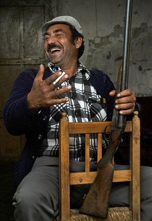 Antonio, head of a gypsy family in Spain..