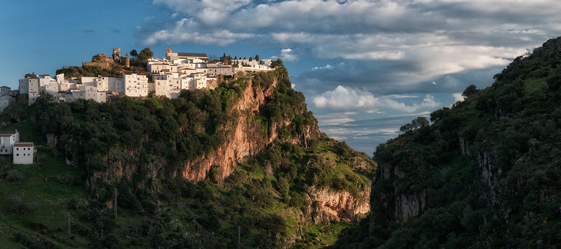 Being one of the last Muslim strongholds during the occupation by the Moors, the village of Casares is swathed in history. With commanding views of the rock of Gibraltar and Africa, Casares is just 13 kilometers inland from the Mediterranean sea.   Casares, Andalucia, Spain.