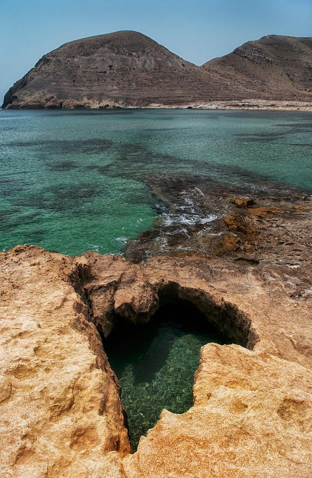 Nature reserve.<br /> <br /> Cabo De Gata, Almeria, Spain
