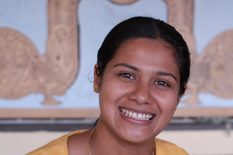 Big smile at Kothmale, Sri Lanka.