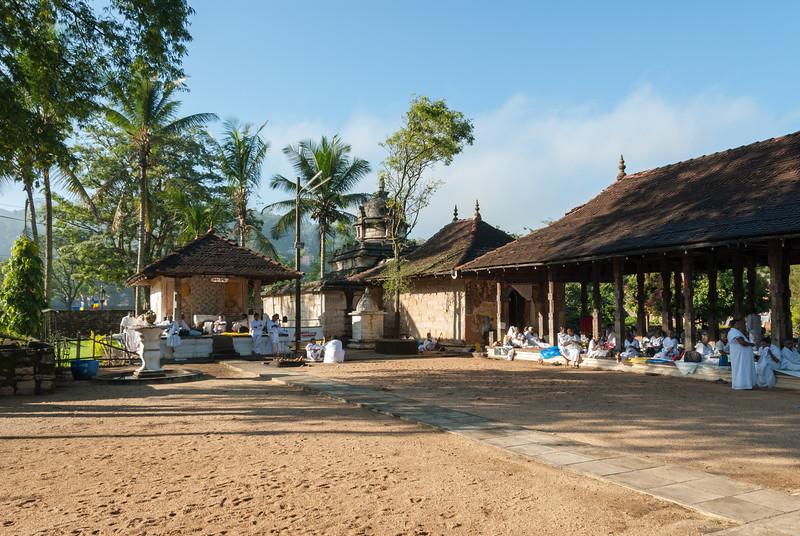 Natha Devalaya, Temple Square, Kandy 20000, Sri Lanka near the Buddhat Tooth Temple. Natha Devale shrine's presiding divinity is the Mahayana Bodhisattva Avalokitesvara. The Maha Devale or the shrine of Visnu is one of the Brahmanical Triad