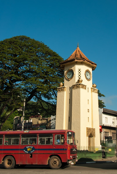 Kandy Clock Tower, Sri Lanka.