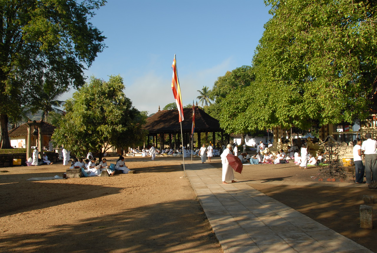 Natha Devalaya, Temple Square, Kandy 20000, Sri Lanka near the Buddhat Tooth Temple. Natha Devale shrine's presiding divinity is the Mahayana Bodhisattva Avalokitesvara. The Maha Devale or the shrine of Visnu is one of the Brahmanical Triad