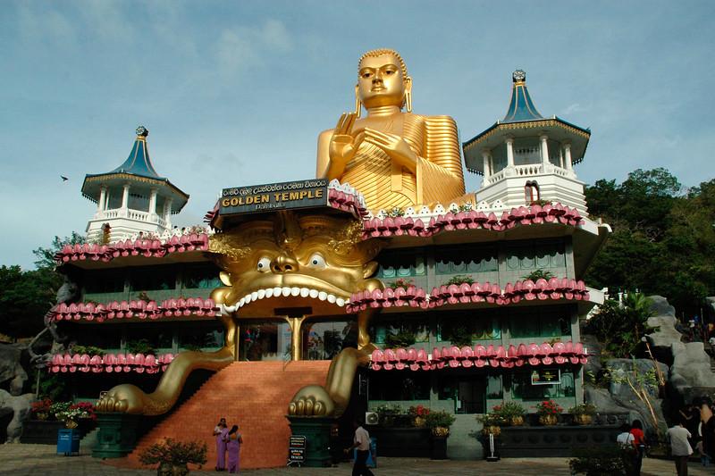 Buddha, Golden Temple, Dambulla, Sri Lanka