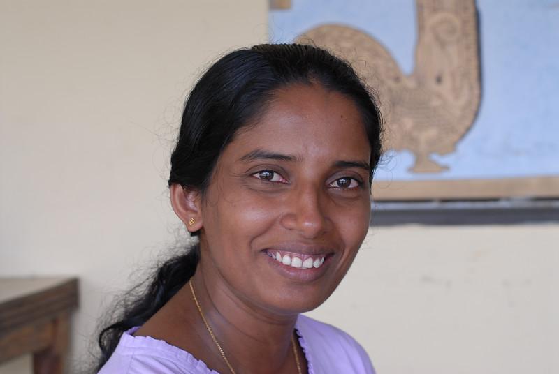 Big smile at Kothmale, Sri Lanka.