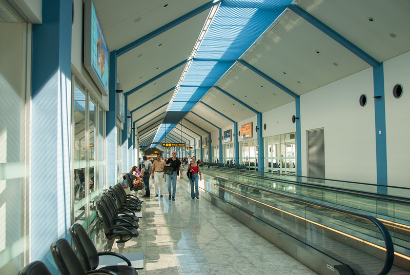 Bandaranaike International Airport, Colombo, Sri Lanka.