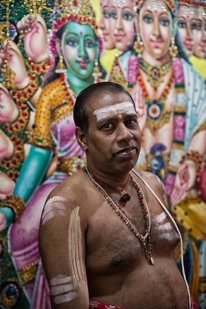Sri Lankan, hindu priest.
