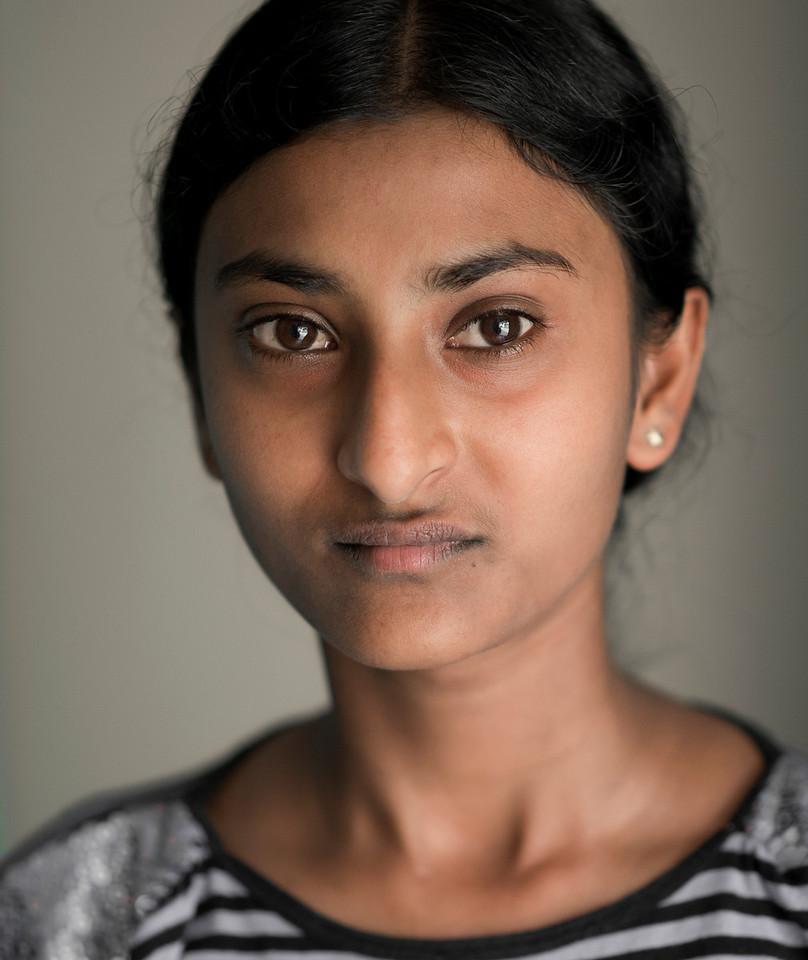 Sri Lankan young woman.