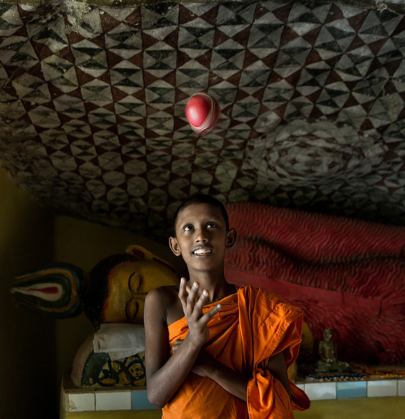 "Sri Lankan children forced to become monks, endure abuse and manipulation in Buddhist monasteries.<br /> <br /> Below is an excerpt from a newspaper article debating the dedication of children to the temples.<br /> (Source: LankaNewspapers.com - Sri Lanka August 28, 2010)<br /> <br /> ""The system of dedicating children to the Temples and religion goes back many centuries. These children who are given away to the Temples at an early age are too young to understand the religion, politics or child abuse. The Hindu India not only banned the practice of animal sacrifice but it also banned the dedication of children at an early age to the Temples and monasteries. I think slaughtering animals in the Temples for religious purposes is cruel and primitive and so is the dedication of young children to the Temples, monasteries and religious sects. When they can`t even decide what to eat, how can they decide whether they want to become a monk or a layman. In my view this is primitive and cruel and the Buddhist Sri Lanka`s political leader must pay attention to that, and stop this sordid practice.<br /> The child monks are torn away from their poor Sinhala Buddhist parents by radical Buddhist sects to serve as foot soldiers in their attempt to foist Sinhala chauvinism upon the country. Rampant Buddhism and violent self-seeking political monks have been the bane of Sri Lankan politics.<br /> The poor Sinhala village boys, mainly to young to understand religion or politics, are being coerced into joining these Buddhist, chauvinist movements with the lure of street power, economic betterment and a secure life. The child monks with their cherubic faces and indoctrinated minds will appeal to these masses on the emotional and fanatically religious plane.<br /> Gananath Obeyesekere, an anthropology professor at Princeton University, says the campaign targets children as young as 5 years of age even though Theravada Buddhism doctrine states that a boy must be at least 15 years of age to become a monk."""