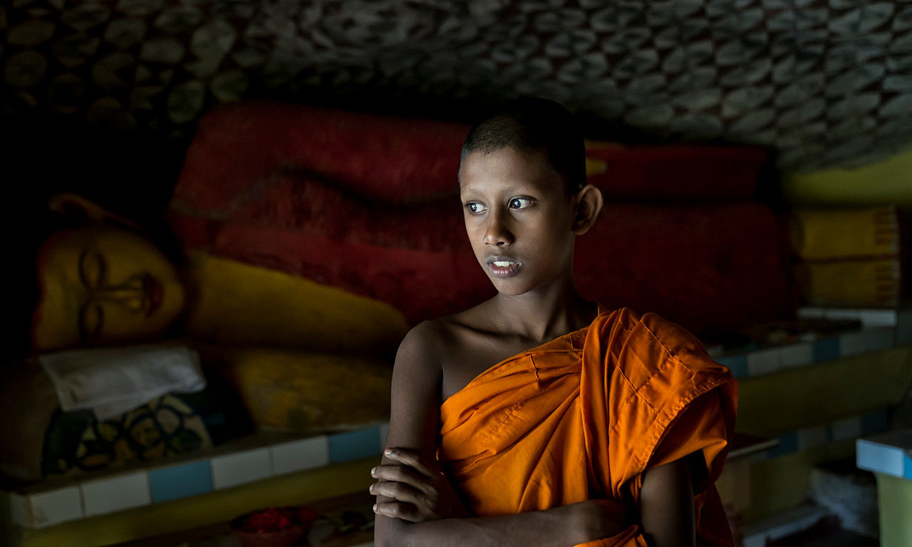 Sri Lankan Buddhist monk.