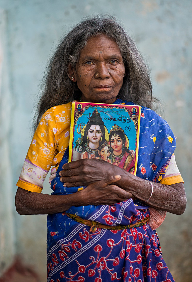 Sri Lankan Tamil, Hindu woman.