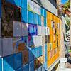 A beautiful tile mosaic on Aviles Street