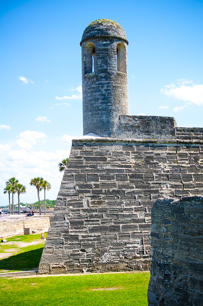 The beautiful Castillo de San Marcos