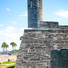 The beautiful Castillo de San Marcos