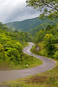 Hummingbird Highway, Stann Creek, Belize.