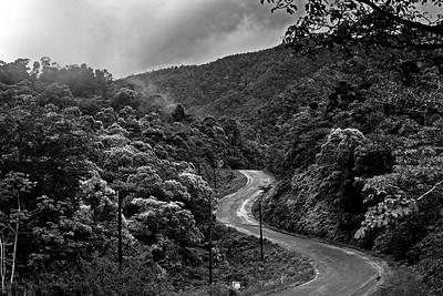 Hummingbird Highway, Stann Creek, Belize.