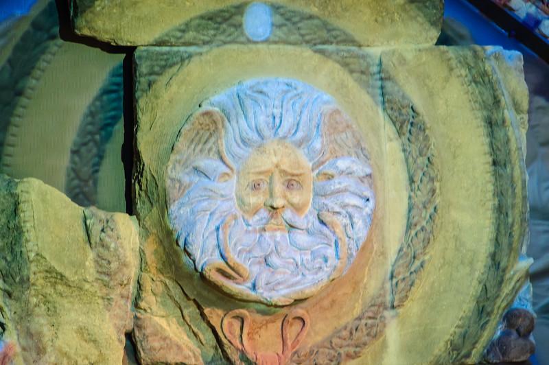 Detail of Roman Baths