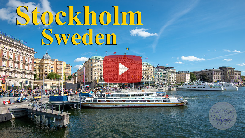 Short video clips from Stockholm, Sweden