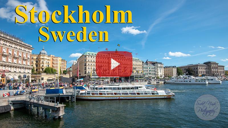 Short video clips from Stockholm, Sweden