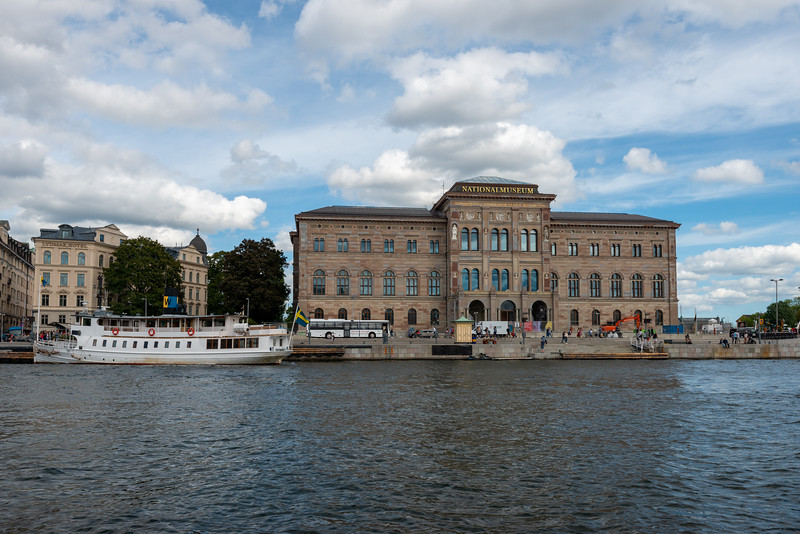 Nationalmuseum. Museum of painting, sculpture, design, applied & graphic art from the Middle Ages to the present in Stockholm, Sweden.