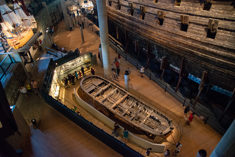 Vasa Museum (Vasamuseet), Galärvarvsvägen, Stockholm, Sweden is a museum with a well-preserved, 17th-century warship, Vasa, that sank on her maiden voyage in 1628.