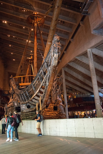 Vasa Museum (Vasamuseet) is a museum with a well-preserved, 17th-century warship, Vasa, that sank on her maiden voyage in 1628. Musuem is located at Galärvarvsvägen, Stockholm, Sweden
