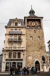 Molard Clock tower