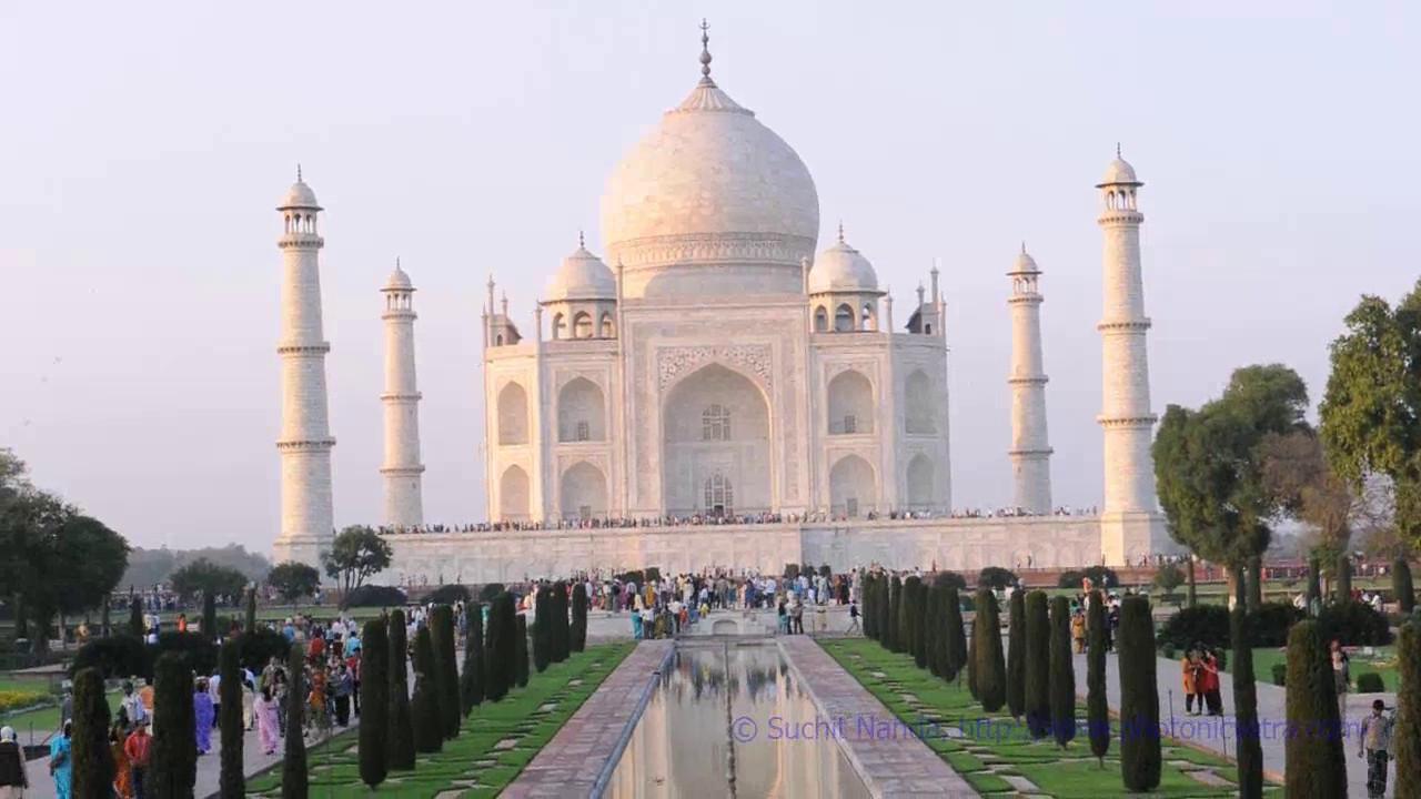 Short audio-video clip of the Taj Mahal, Agra, UP, India.
