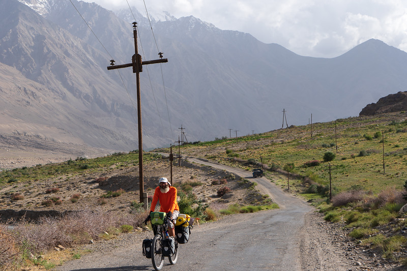 Cycling the Waghan road