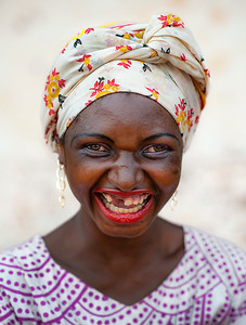 Mariam is a warm hearted young woman with psychological issues who is always smiling and who loves to dress up and look good all the time.   Tanzania, 2019