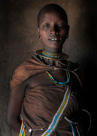 The origin of the Datoga is to be traced back to the Ethiopian and South Sudanese highlands; it is believed their history dates back to approximately 3,000 years ago.   Their ancestors gradually travelled Southwards until they reached the highlands area of Kenya and Tanzania and finally settled there; during this migration the Highland Nilotes split into two groups: the first one settled in Kenya and gave birth to the Kalenjin people; the second settled in Tanzania, and became the ancestors of the Datoga.  Tanzania, 2019.