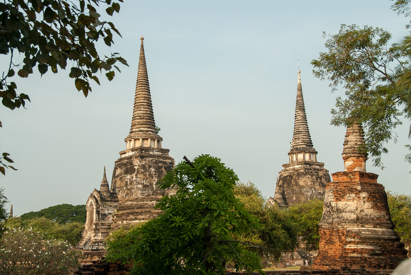 Vihara Phra Mongkhon Bophit, Ayutthaya, Thailand is a modern temple best known for its massive, gilded statue of the sitting Buddha.