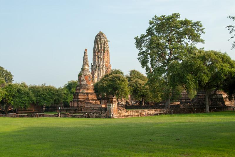 View of Wat Phra Ram,  inAyutthaya, Thailand.