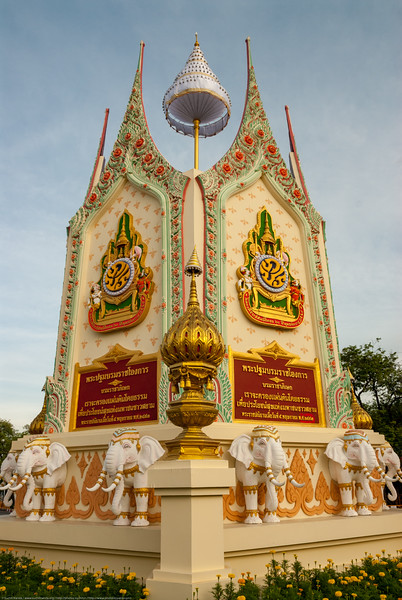 Monument close to the Grand Palace, Bangkok, Thailand.