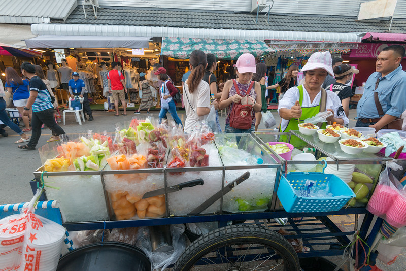 Chatuchak Market, Bangkok also known as JJ Market is a massive market place with over 15,000 stalls, divided into 27 sections offers an eclectic variety of goods, from antiques to pets. The Chatuchak Weekend Market is the largest market in Thailand.