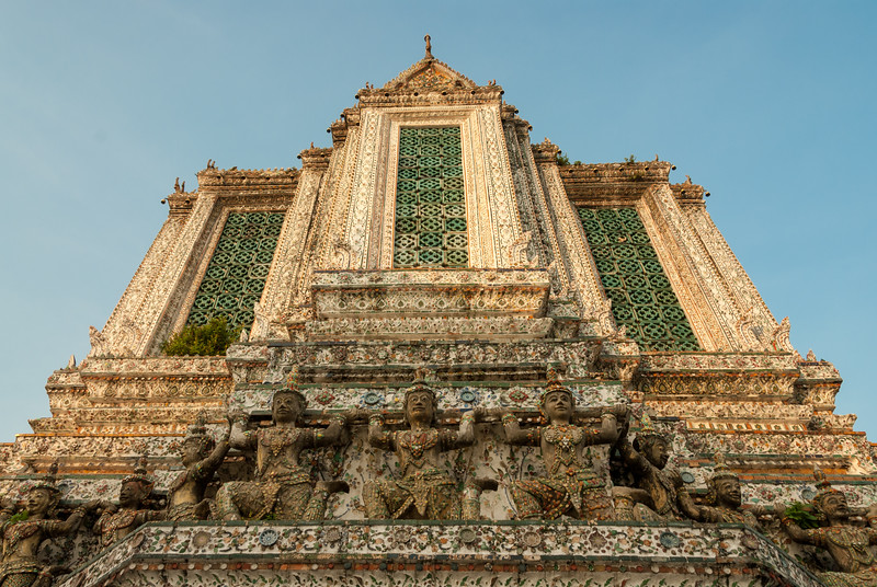 Wat Arun Ratchawararam Ratchawaramahawihan, Bangkok, Thailand.<br /> <br /> Wat Arun Ratchawararam Ratchawaramahawihan or Wat Arun is a Buddhist temple in Bangkok Yai district of Bangkok, Thailand, on the Thonburi west bank of the Chao Phraya River.