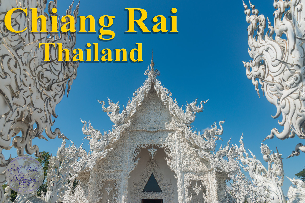 Chiang Rai (Thai: เมืองเชียงราย)  is the northernmost large city in Thailand. It was established as a capital city in the reign of King Mangrai, in 1262 CE. The city was founded by King Mangrai in 1262 and became the capital of the Mangrai Dynasty. Subsequently, Chiang Rai was conquered by Burma and remained under Burmese rule for several hundred years.<br /> <br /> They city is near the borders of Laos and Myanmar (formerly Burma). Wat Phra Kaew is a royal temple that once housed the jade Emerald Buddha and now displays a replica. Nearby, the Navel City Pillar is a monument made of more than 100 Khmer-style pillars. Mae Fah Luang Art and Cultural Park is a museum showcasing Lanna artifacts.