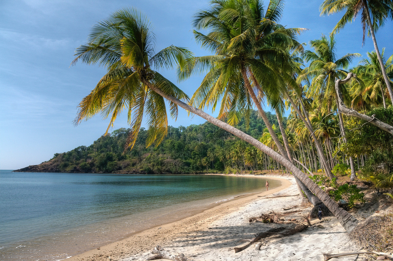 Secluded beach.<br /> <br /> Island of Ko Chang's northern coast, Thailand, 2011.