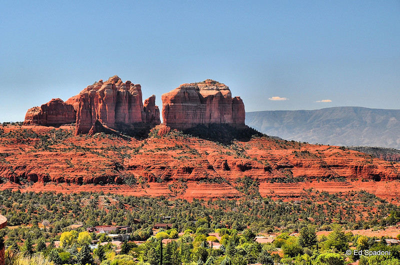 """The Red Rocks of Sedona<br /> <br /> Sedona is known for it's red soil, buttes and mountains.  They provide magnificent vistas in all directions.  Additional images of the red rocks of Sedona can be seen in this gallery:  <a href=""""http://www.edspadoni.com/Photography/The-Great-American-Southwest/15384211_vL5AB#1158440689_HXHsY"""">http://www.edspadoni.com/Photography/The-Great-American-Southwest/15384211_vL5AB#1158440689_HXHsY</a>"""
