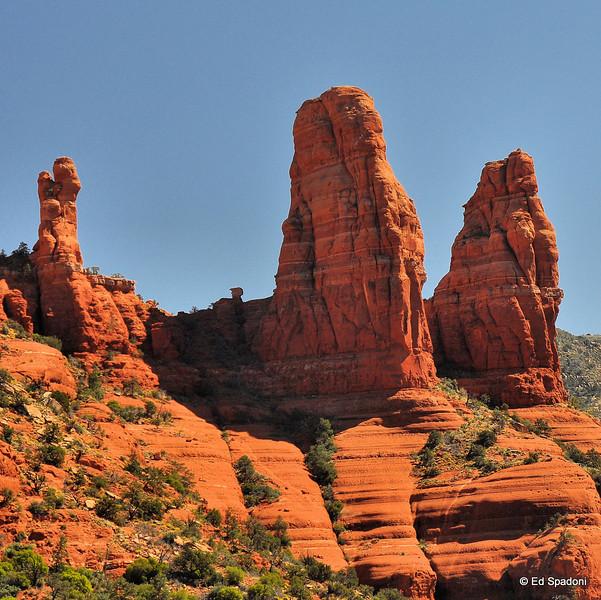 Red Rock outcroppings, Sedona, AZ
