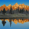 Break of Day in the Tetons, #0980