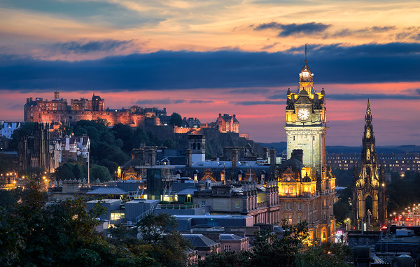 Edinburgh Castle – Edinburgh, Scotland