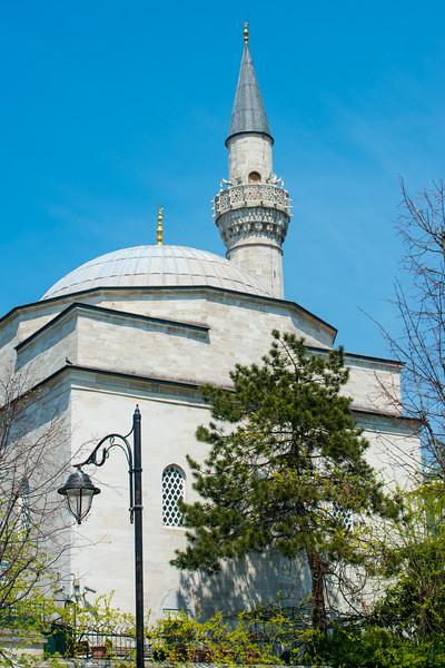 Street view in Istanbul, Turkey.