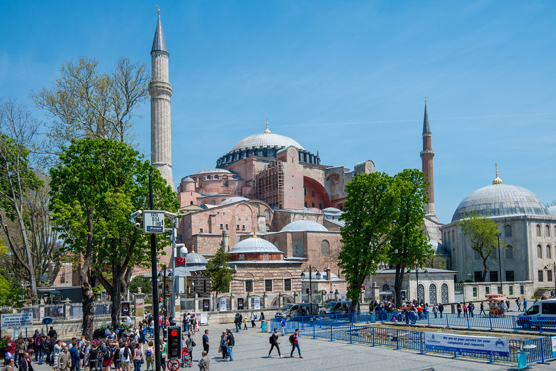Hagia Sophia, officially the Hagia Sophia Grand Mosque and formerly the Church of Hagia Sophia, is a Late Antique place of worship in Istanbul.