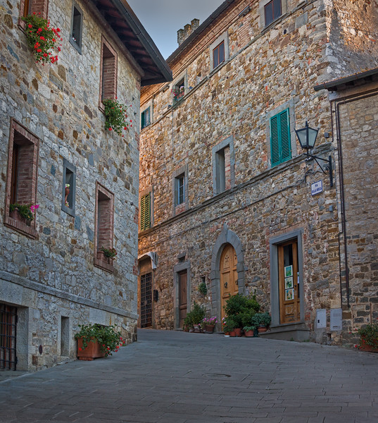 Streets in Castellina Chianti