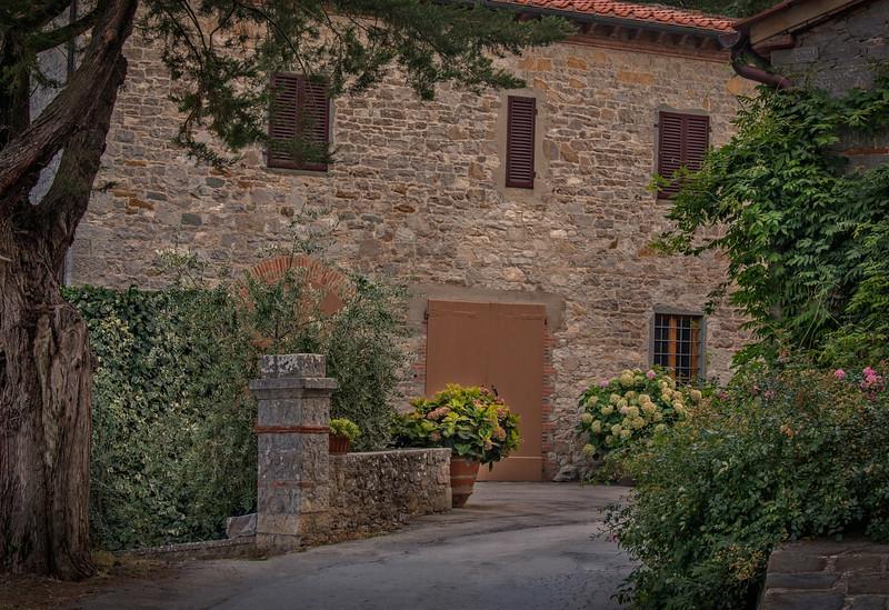 Village of Castagnoli in Chianti