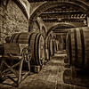 Wine Cellers at Rocca di Castagnoli (sepia)