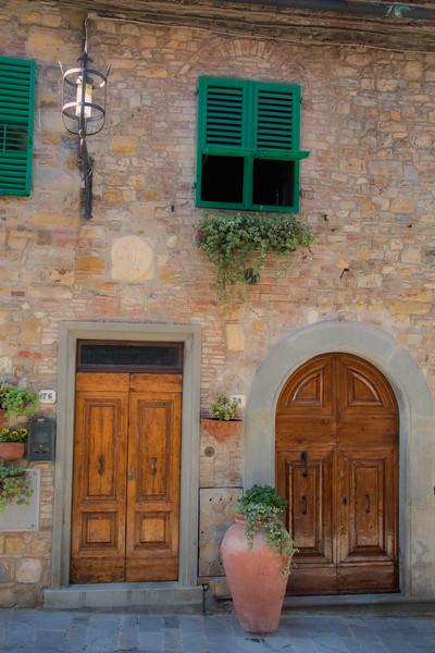 Doorways in San Donato