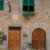 Doorways in San Donato